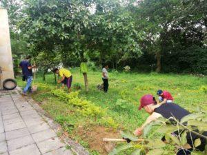 Algunas de las infracciones son sancionadas con trabajo comunitario como limpieza de parques o mantenimiento de zonas verdes.    - Suministrada/GENTE DE CAÑAVERAL