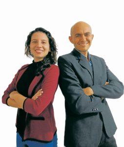 Ana Daniela Martínez y Leonardo Rodríguez trabajan constantemente en conocer nuevos planes para ofrecer a sus clientes.  - Suministrada/GENTE DE CAÑAVERAL