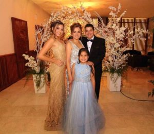 Daniela Rivero, Érika Moreno, Raúl Rivero y Alejandra Rivero - Élver Rodriguez/GENTE CAÑAVERAL
