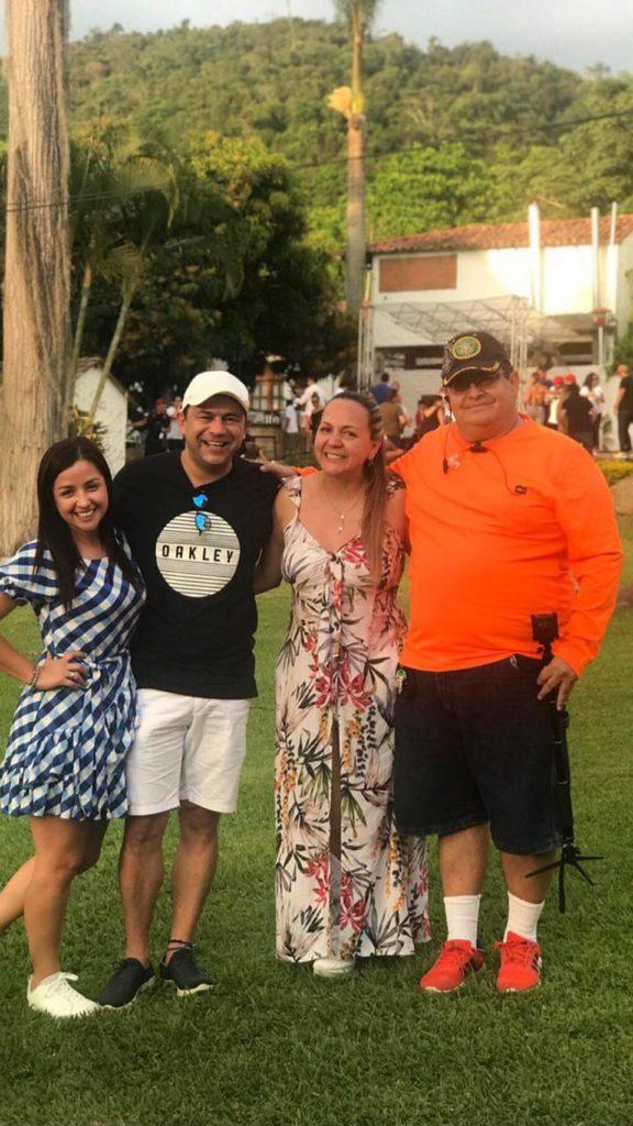 Rosita Gómez, Jhon Fredy Serrano, Luz Marina Carvajal y Manuel Reyes.  - Suministrada/GENTE DE CAÑAVERAL