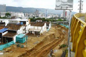 Se contempla que la segunda fase del tercer carril finalice en marzo. - César Flórez/GENTE DE CAÑAVERAL