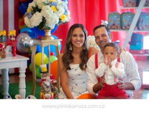 Laura Bautista Osma, Genesio Pangaro y Emiliano Pangaro Bautista - Suministrada/GENTE DE CAÑAVERAL