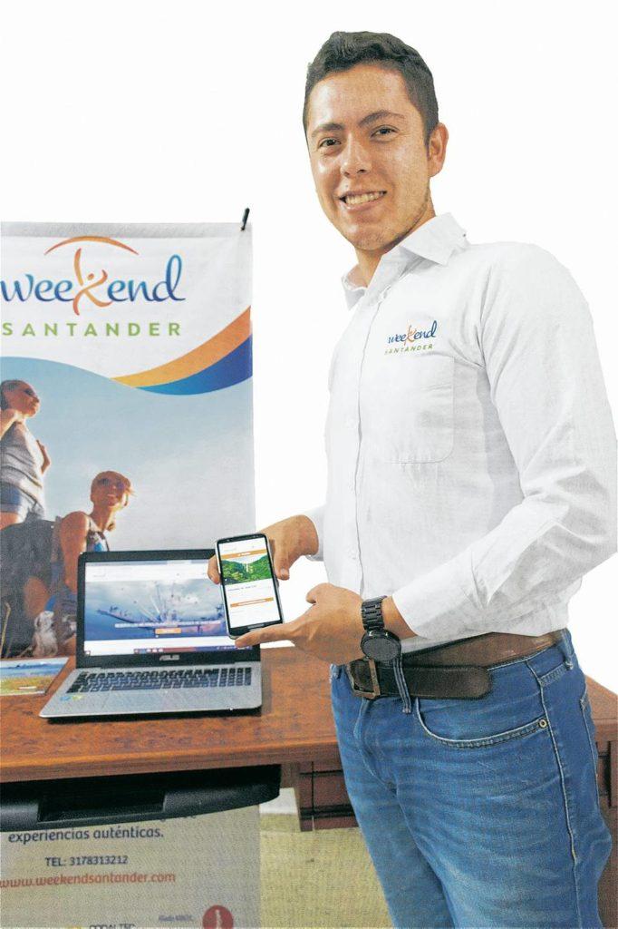 Mediante la plataforma virtual se dan a conocer los sitios turísticos de Santander.  - Suministrada/GENTE DE CAÑAVERAL