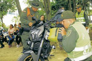 Mediante esta campaña se busca combatir el robo de motos y concientizar a los conductores sobre la importancia de las medidas de seguridad.   - César Flórez/GENTE DE CAÑAVERAL