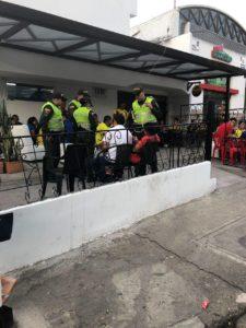 Con el fin de mejorar la convivencia y mejorar la seguridad, la Policía adelanta controles continuos en los establecimientos de Cañaveral.  - Archivo/GENTE DE CAÑAVERAL