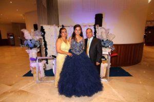 Vilma Jaimes, Alix Aguilar Jaimes y William Aguilar.  - /GENTE DE CAÑAVERAL
