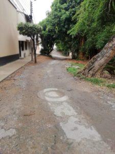 La comunidad de Cañaveral Panamericano espera que con el avance de la obra del Tercer Carril, se dé el arreglo de esta vía.  - Suministrada/GENTE DE CAÑAVERAL