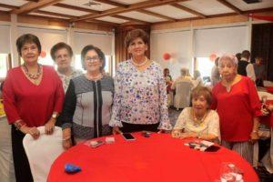 Alcira Serrano, Elvira Blanco, Alicia de Álvarez, Luz Angela Uribe, Isabel de Abril y Nubia Rocha. - Fabián Hernández /GENTE DE cAÑAVERAL