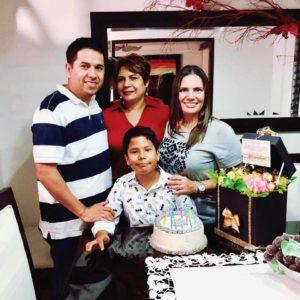 Ramón Carreño, Rosmary Calvete, Nicolás Carreño y Silvia Cely.  - Suministrada/GENTE DE CAÑAVERAL