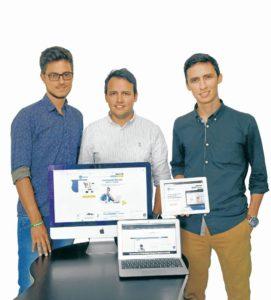 Los creadores de la plataforma  Tienwi.com esperan llegar a obtener 500 clientes en 2020.  - Suministrada/GENTE DE CAÑAVERAL