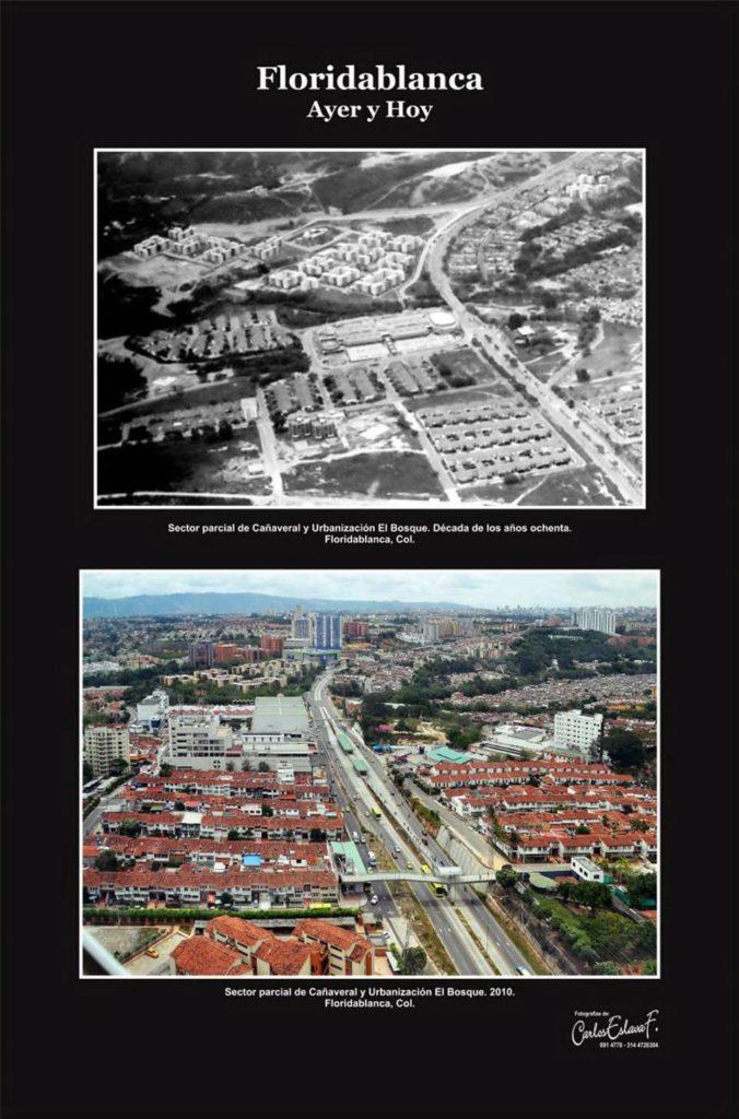 El sector de Cañaveral poco a poco se ha desarrollado urbanísticamente y hoy se encuentran más conjuntos y centros comerciales. Foto de 2010. - Archivo/GENTE DE CAÑAVERAL