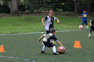 Desde los 3 años de edad los niños pueden vincularse a esta academia deportiva.  - Fabián Hernández /GENTE DE CAÑAVERAL
