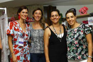 Nathalia Rey, María Fernanda Cuartas, Luisa Aristizabal y Alejandra Cortizos. - César Flórez/GENTE DE CAÑAVERAL