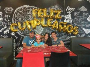 Jorge Luis Barbosa, Luciana Barbosa Rangel, Valeria Barbosa Rangel y Viviana Rangel.  - Suministrada/GENTE DE CAÑAVERAL