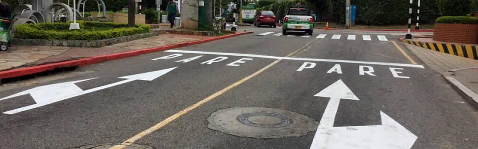 Realizan mantenimiento a  demarcaciones viales en Cañaveral