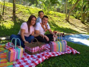 Suministrada/GENTE DE CAÑAVERAL Neyla Patricia Mantilla Pabón, Fernando Montoya Puerto y Salomé Montoya Mantilla.