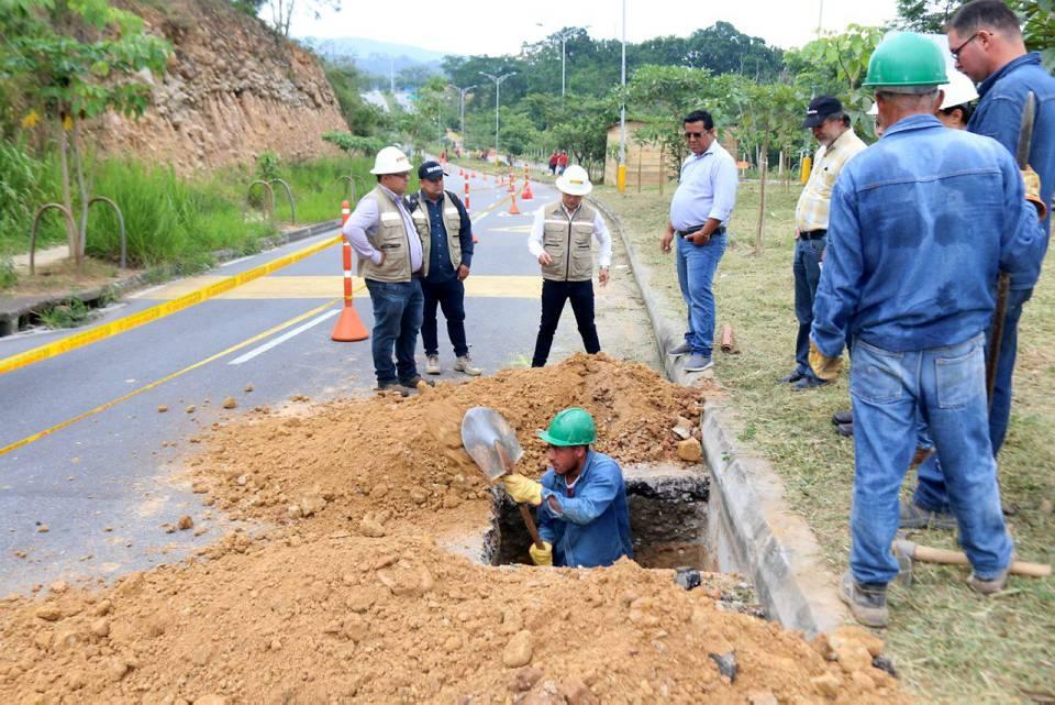El carril oriental de la Transversal de El Bosque estará habilitada en contraflujo hasta el 1 de agosto. - Suministrada/GENTE DE CAÑAVERAL