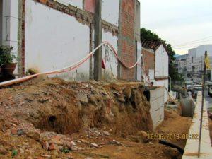 Durante estos días se han concentrado los trabajos en el tramo de la última casa demolida, con el fin de cumplir con la fecha pactada. - Suministrada/GENTE DE CAÑAVERAL