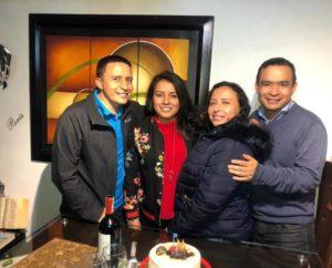 Jaime Acosta, Andrea Acosta, Alexandra Acosta y Néstor Acosta.  - Suministrada/GENTE DE CAÑAVERAL