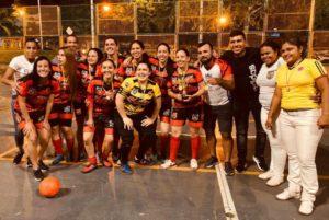 El equipo Soccer Fit fue el campeón en el Torneo Femenino - Categoría Novatas.   - Suministradas/GENTE DE CAÑAVERAL