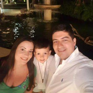 Karen Zambrano disfruta día a día junto a su familia, su principal motor de vida. - Suministrada/GENTE DE CAÑAVERAL