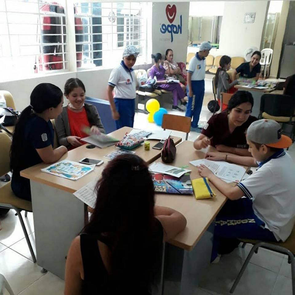 Además de continuar con sus estudios, en las Aulas Hospitalarias, los niños recibían apoyo psicosocial y realizaban actividades lúdicas. - Suministrada / GENTE DE CAÑAVERAL