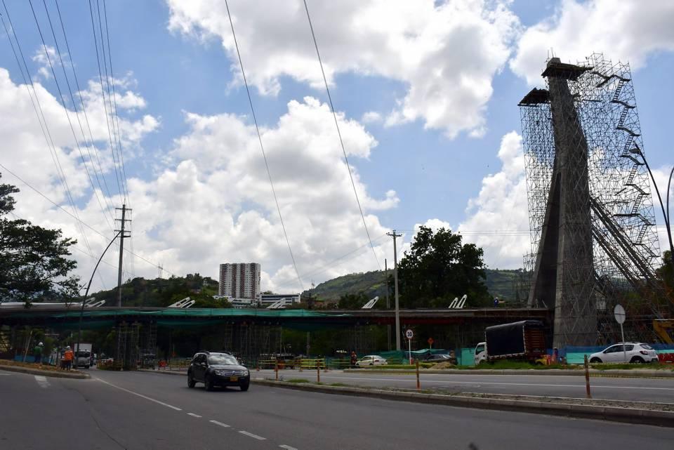 El puente atirantado, es una de las caracteristicas especiales que contempla el proyecto del intercambiador de Papi Quiero Piña. - Miguel Vergel/GENTE DE CAÑAVERAL