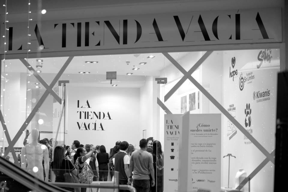 La Tienda Vacía estará abierta hasta el 24 de diciembre, de 10 de la mañana a 8:00 de la noche. - Suministrada/GENTE DE CAÑAVERAL