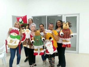Residentes de Cañaveral participaron activamente del curso navideño que se dictó en el sector. - Suministrada /GENTE DE CAÑAVERAL