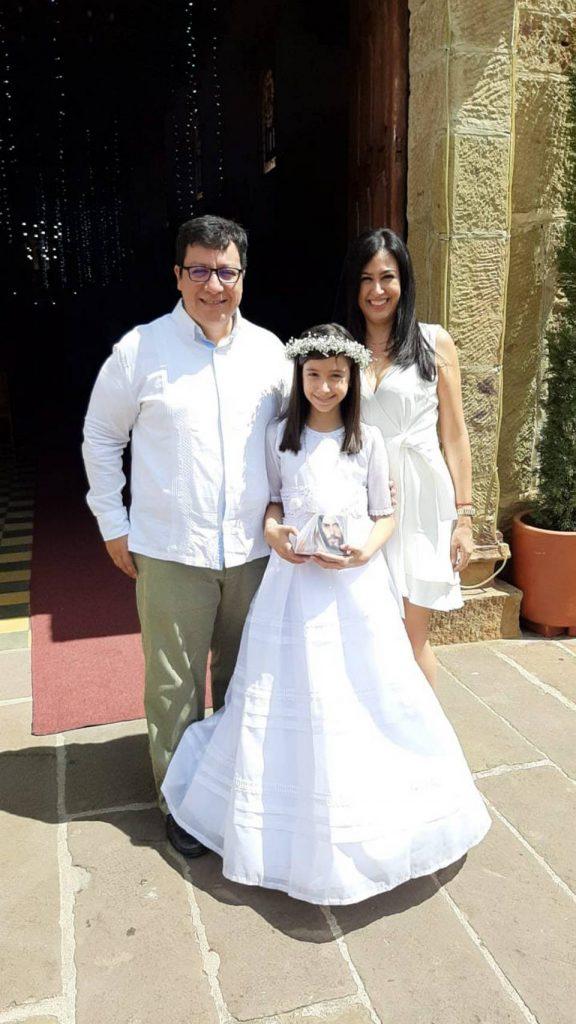 Rafael González Velandia, Mariana González Méndez y Deyanira Méndez Suárez. - Suministrada/GENTE DE CAÑAVERAL