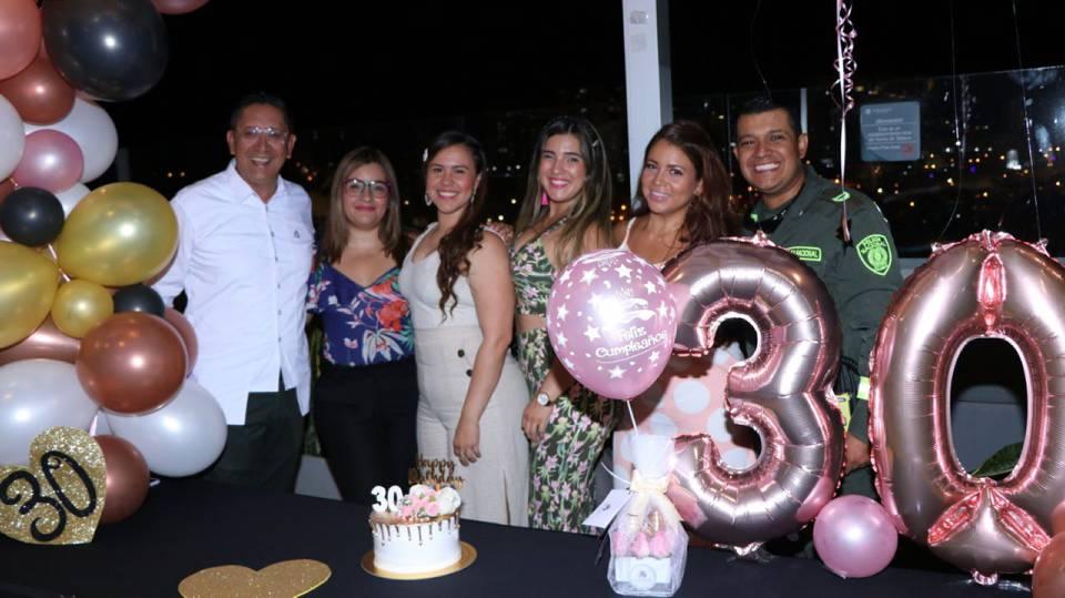 Suministrada/GENTE DE CAÑAVERALLudwing Eslava, María Fernanda Gutiérrez, Janeth Cuellar, Zulay Díaz Hernández, Ingrid Paola Albis y Alejandro Gaitán
