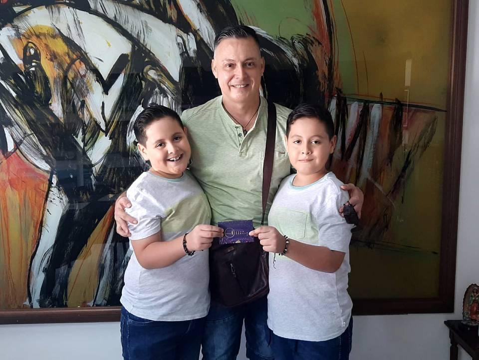 Mauricio Pérez, Daniel Pérez Martínez y Samuel Pérez Martínez. - Suministrada /GENTE DE CAÑAVERAL