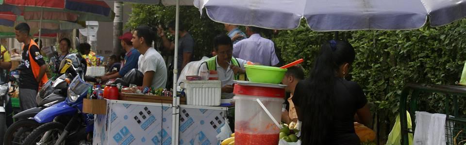 Alimentos callejeros, un riesgo para salud