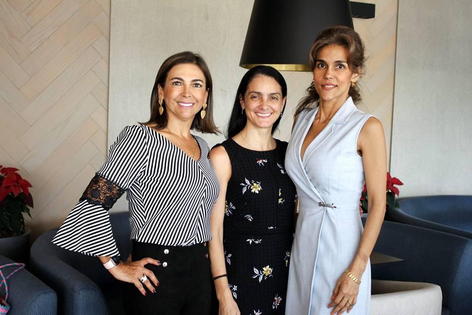 Natalia Jaramillo, Gloria Rueda y Mariela Galindo. - Jaime del Río/GENTE DE CAÑAVERAL