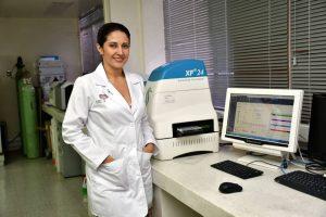 Sandra Sanabria es una reconocida investigadora que trabaja en la Fundación Cardiovascular desde hace 13 años. - Miguel Vergel/GENTE DE CAÑAVERAL