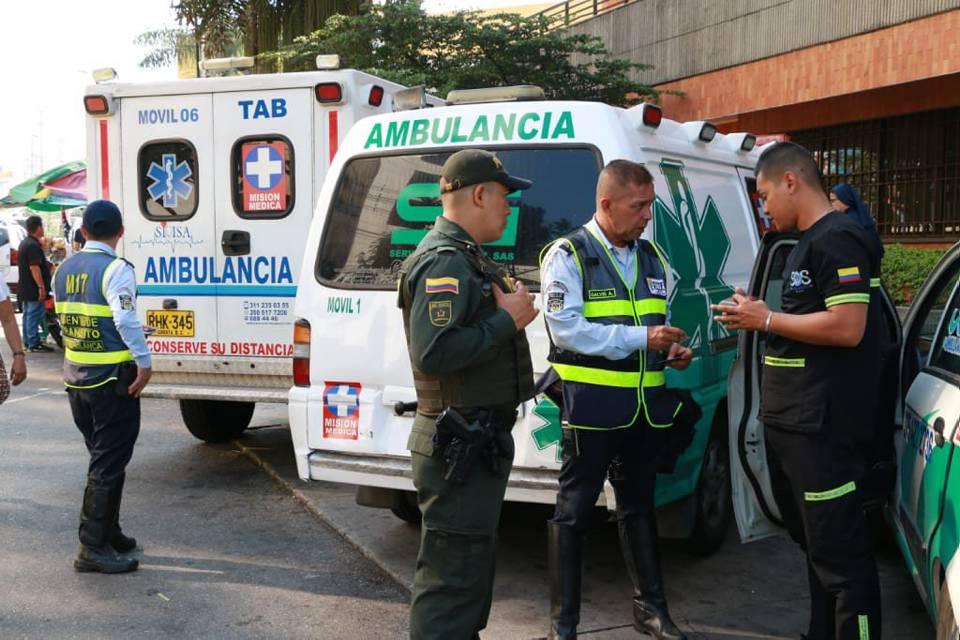 Esta semana se realizó el primer operativo para ambulancias, con el cual se busca mejorar el servicio. - Suministrada/ GENTE DE CAÑAVERAL