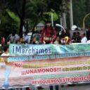 Marcha por la defensa del agua