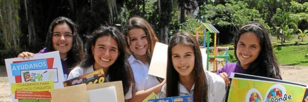 Estudiantes de Cantillana lideran campaña 'Ya tengo dónde escribir'