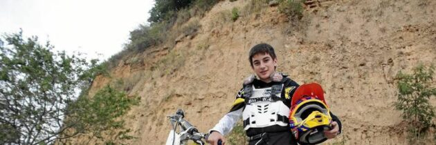 Un pequeño gigante del motocross