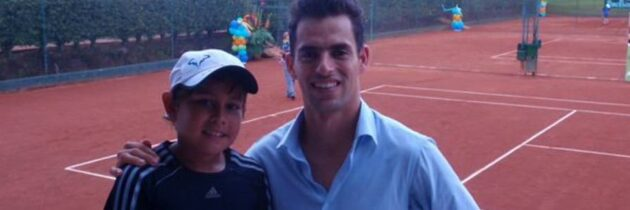 William Ribero, rumbo al  Suramericano de Tenis