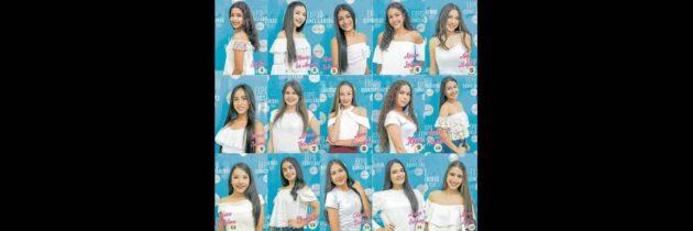 Listas las 15 niñas que participarán en Expoquinceañera 2018