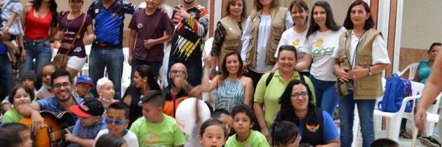Luz Marina Cadena, comprometida con la vida de los niños de Sanar