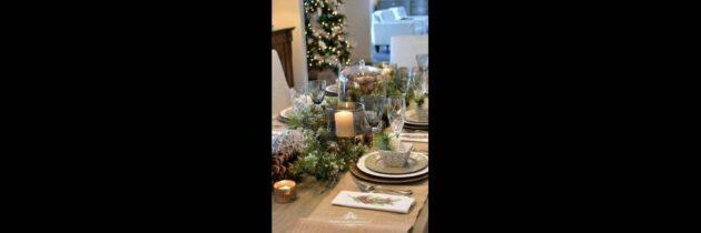 Recomendaciones para  vestir la mesa en esta Navidad