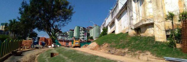 Obra de renovación urbana  finalizaría en febrero