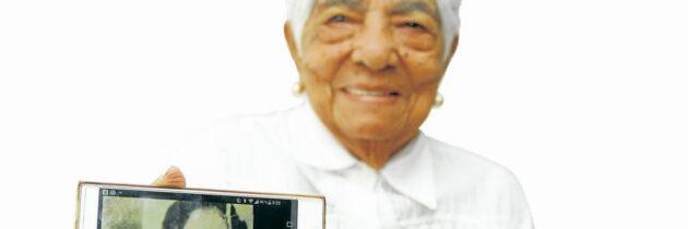 Más de cien años de entrega a su familia