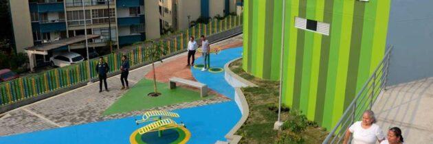 Obra de renovación urbana  abre sus puertas a la comunidad