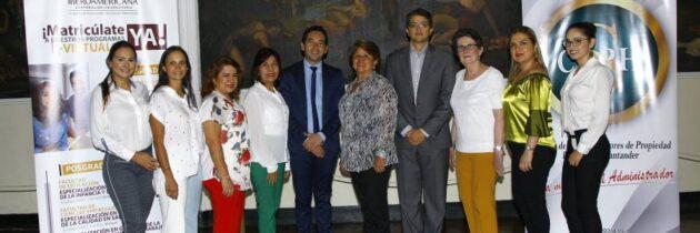 Colegio de Administradores firma convenio con Ibero
