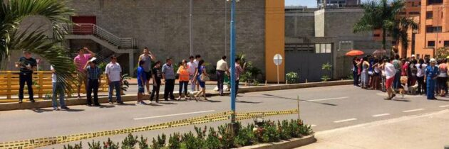 """Sector de Cañaveral se """"rajó"""" en el simulacro de evacuación"""