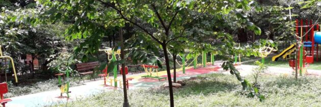 Piden arreglo de gimnasio y juegos del Parque de la Salud