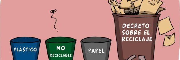 ¡A reciclar!